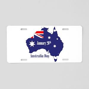 Happy Australia Day Aluminum License Plate