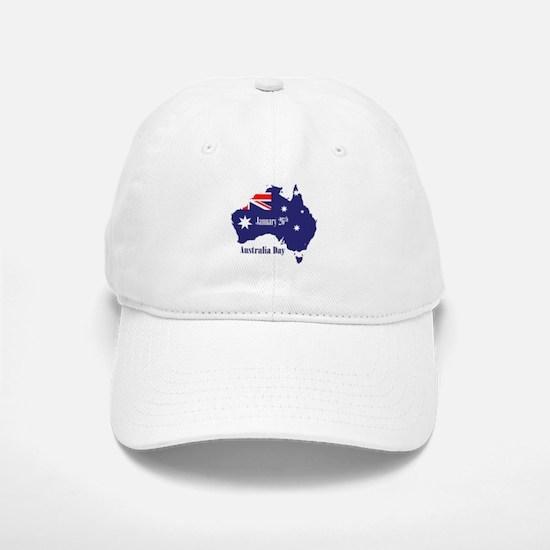 Happy Australia Day Baseball Baseball Cap