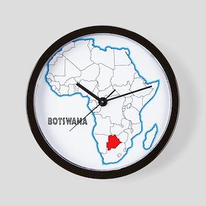 Botswana Wall Clock