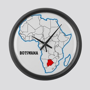 Botswana Large Wall Clock