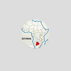 Botswana Mini Button