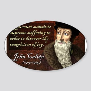John Calvin Sticker
