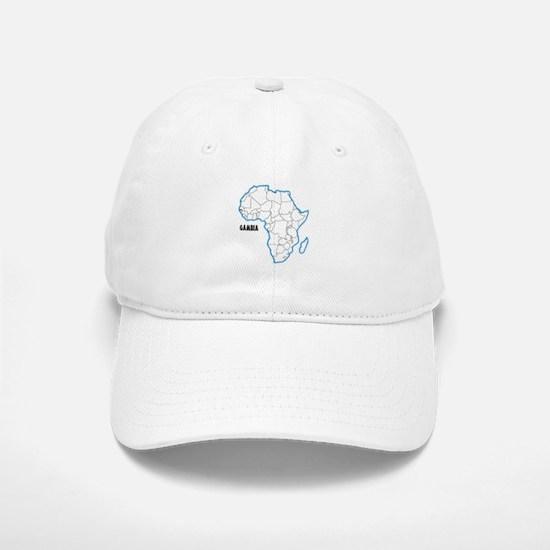 Gambia Baseball Baseball Cap