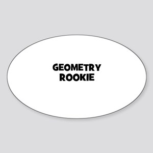 Geometry Rookie Oval Sticker