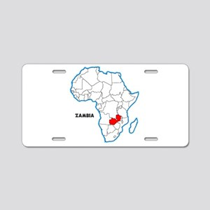 Zambia Aluminum License Plate