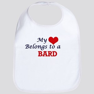 My heart belongs to a Bard Bib