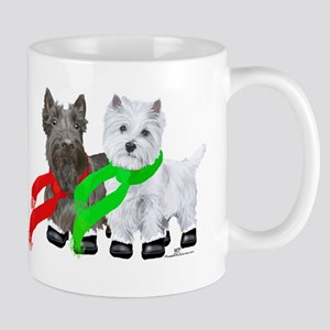 Scottie Westie Winter Mug