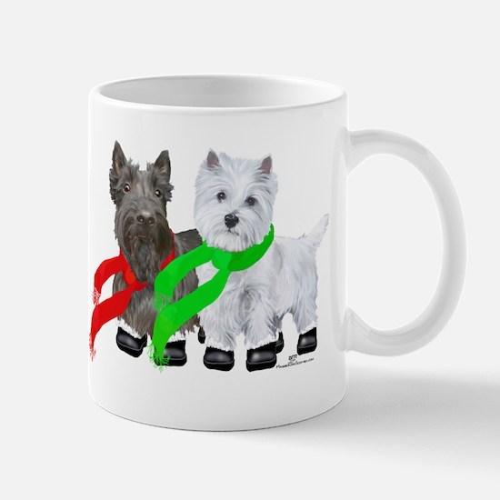 Scottie Westie Winter Mug