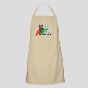Scottie Westie Winter Apron