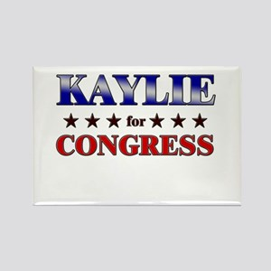 KAYLIE for congress Rectangle Magnet