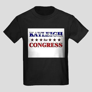 KAYLEIGH for congress Kids Dark T-Shirt
