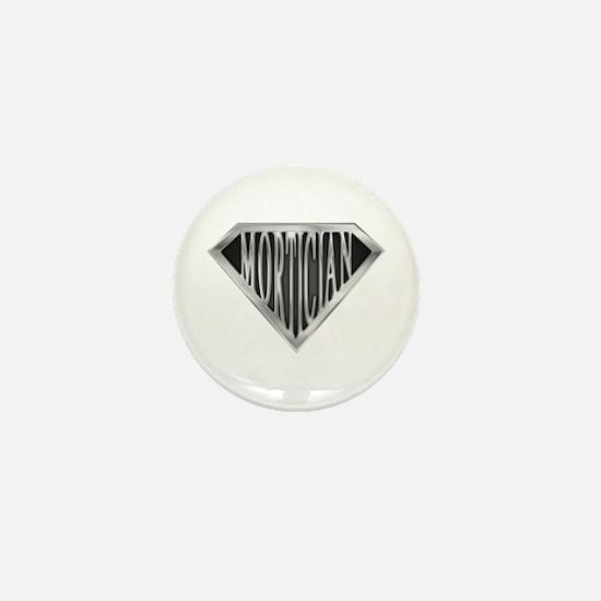 SuperMortician(metal) Mini Button