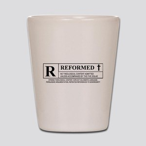R for Reformed Shot Glass