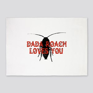 Dada Roach 5'x7'Area Rug