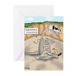 Transcendental Fossiliza Greeting Cards (Pk of 10)