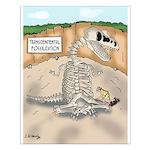 Transcendental Fossilization Small Poster
