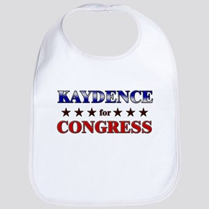 KAYDENCE for congress Bib