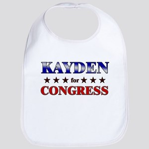 KAYDEN for congress Bib