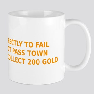 Go Directly To Fail Mugs