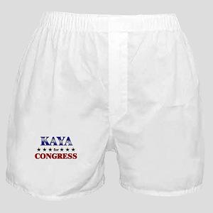 KAYA for congress Boxer Shorts