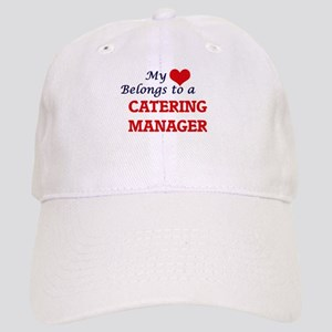 My heart belongs to a Catering Manager Cap