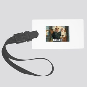 Luther Nailed It! Large Luggage Tag