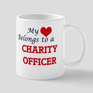 My heart belongs to a Charity Officer Mugs