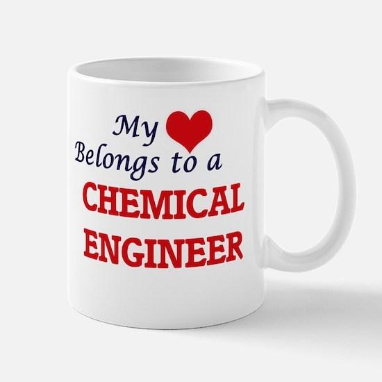 My heart belongs to a Chemical Engineer Mugs