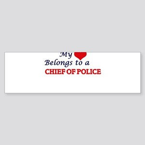 My heart belongs to a Chief Of Poli Bumper Sticker
