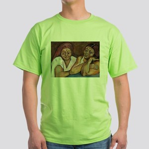 Day of the Muertos Green T-Shirt