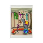 Hanging the Wash @ the Rectangle Magnet (10 pack)