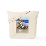 Free Range Sled Dog Tote Bag