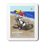 Free Range Sled Dog Mousepad