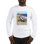Free Range Sled Dog Long Sleeve T-Shirt