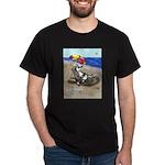 Free Range Sled Dog Dark T-Shirt
