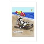 Free Range Sled Dog Postcards (Package of 8)
