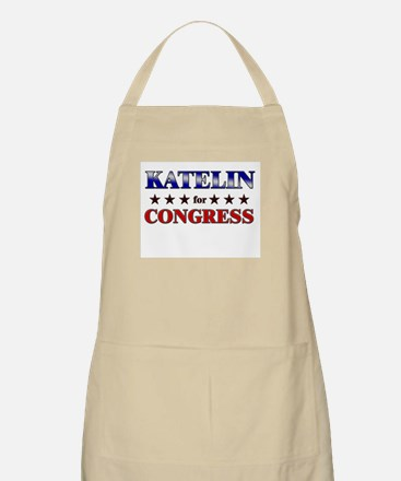 KATELIN for congress BBQ Apron
