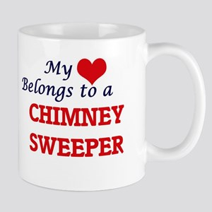 My heart belongs to a Chimney Sweeper Mugs