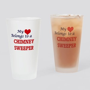 My heart belongs to a Chimney Sweep Drinking Glass