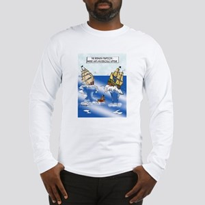 The Bermuda Trapezoid Long Sleeve T-Shirt