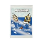 The Bermuda Trapezoid Rectangle Magnet (10 pack)