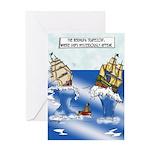 The Bermuda Trapezoid Greeting Card