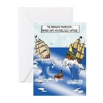 The Bermuda Trapezoid Greeting Cards (Pk of 20)