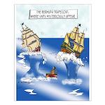 The Bermuda Trapezoid Small Poster
