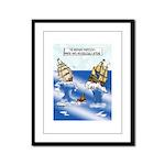 The Bermuda Trapezoid Framed Panel Print