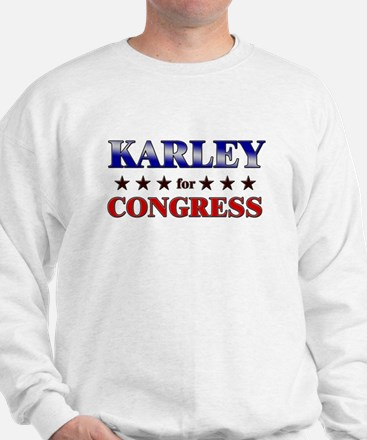 KARLEY for congress Sweater