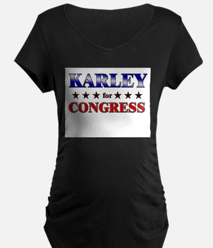 KARLEY for congress T-Shirt
