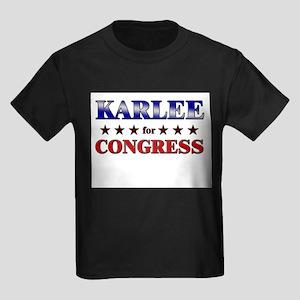 KARLEE for congress Kids Dark T-Shirt