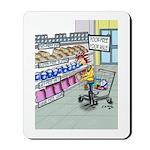 Food Free Food Aisle Mousepad