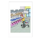 Food Free Food Aisle Postcards (Package of 8)